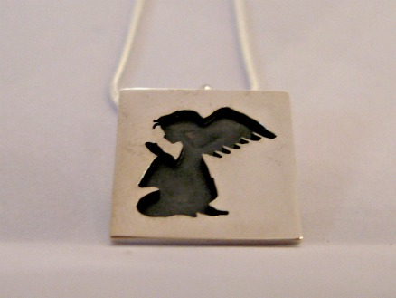 Silver Angel pendent